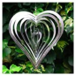 Heart Shaped Steel Windspinner For Th...