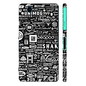 Sony Xperia Z3 Compact ALL MOTORS designer mobile hard shell case by Enthopia