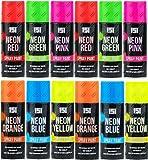 Neon-Spraydosen, 200 ml, Graffiti (Banksey) N0 FCKW, 12 Dosen