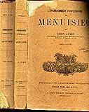 L'ENSEIGNEMENT PROFESSIONNEL DU MENUISIER - EN 2 VOLUMES ( TOMES PREMIER ET SECOND). (voir sommaire en notice).