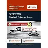 NEET PG (Postgraduate) Entrance Examination 2021   8 Full-length Mock tests (Solved) + 1 Previous Year Paper   Latest Prepara