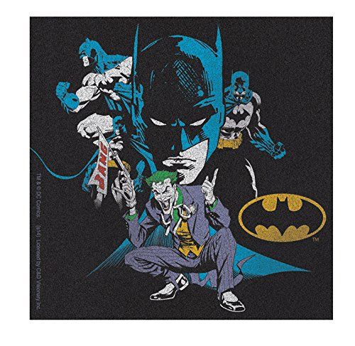 """JOKER THE BATMAN & JOKER, Officially Licensed Original Artwork, 4.5"""" x 4.5"""" - Sticker DECAL autocollant"""