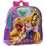 Disney Mochila Escolar Rapunzel, 25 cm, Morado