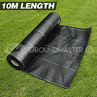 GroundMaster 3m x 10m Heavy Duty Weed Control Fabric Ground Cover Membrane