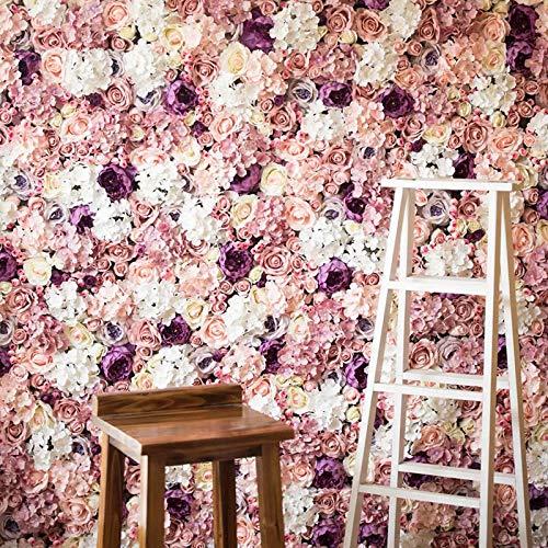 10 PCS 12 cm Künstliche Rosen Blume Köpfe DIY Hochzeit Wand Arch Blumen Geburtstag Party Dekoration Gefälschte Blumen Flores Artificiais