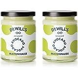 Dr Will's Natürliche Avocado Mayonnaise im Doppelpack - Ideal für Keto- und Paläo-Diät - Zuckerfrei, Glutenfrei und…