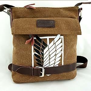 Shingeki Kein Kyojin Attack on Titan Scouting Legion Shoulder Messenger Camera Bag Umhängetasche Schultasche