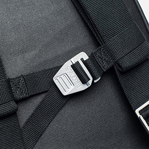 Brooks Pickzip Backpack Canvas 20l grey/honey 2017 Rucksack total black