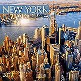 New York 2019: Broschürenkalender mit Ferienterminen. Format: 30 x 30 cm
