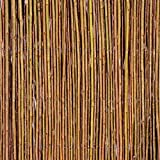 Primrose Weidenmatte Sichtschutzmatte Weidenzaunmatte für Garten Balkon & Terrasse 100cm x 500cm, Papillon