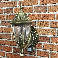 Antique avec détecteur de mouvement 1/2/899 lanterne