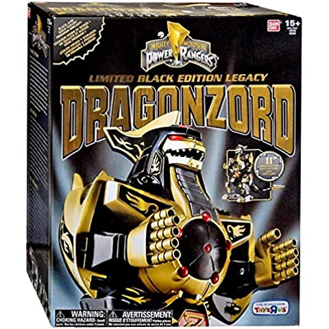 Power Rangers Limited Black Edition Legacy Dragonzord TRU Exclusive by Bandai