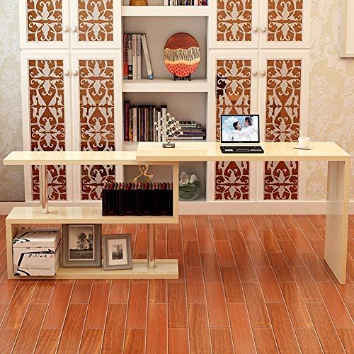 YQ WHJB Drehen Computertisch,l Förmige- Ecke Computer Schreibtisch Studie Schreibt Schreibtisch Home Office Workstation Mit Ablagefläche-e -