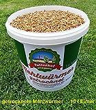 Futterhof getrocknete Mehlwürmer 10ℓ Eimer