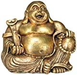 Nobby 28393 Aquarium Dekoration Aqua Ornaments Buddha gold, 13.5 x 11 x 12 cm