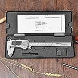 Chenci® Elettronico Digitale Calibri a Corsoio in Acciaio Inossidabile 0-150mm