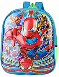 Aadhunik Libaas Spider Man 3D Effect Lightweight Kids School Bag, Travelling Bag, Carry Bag, Picnic Bag, | 13...