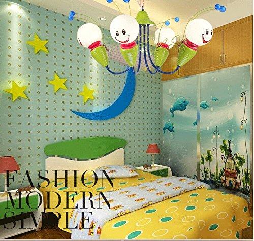 Kinderschlafzimmerlampe LED-Deckenleuchter kreative Cartoon junge Mädchen Kinder-Augen-Bee Kinderzimmer Lampen Beleuchtung ( größe : 4 )