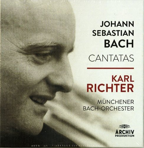 Bach-Kantaten-Karl Richter - Sänger Fall