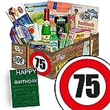 Spezialitätenbox | DDR Geschenkbox L | Zahl 75 | Geschenkideen Vater