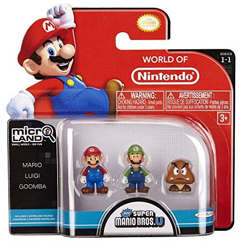 Nintendo - Figura Mario, Luigi, Goomba 2 cm