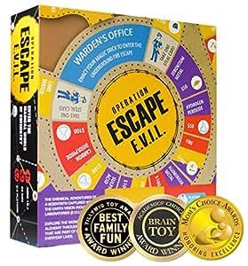 Kitki ESCAPE EVIL Fun Board Game Based On Chemistry & MAGIC