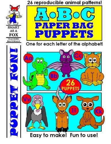 ABC Paper Bag Puppets (Paper Bag Puppet)