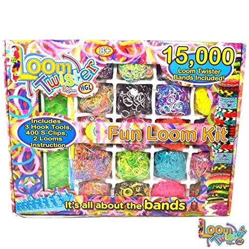 LOOM TWISTER Fun Loom Kit 15000 Set