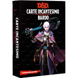 Asmodee- Dungeons & Dragons 5a Edizione Carte Incantesimo Bardo, Colore, 4008