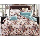 Algodón cuatro juegos de ropa de cama. funda de edredón estilo pastoral americana