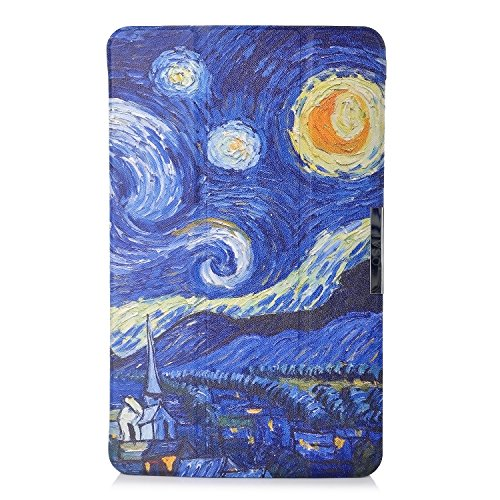 Samsung Galaxy Tab A 10.1 Hülle, IVSO® Ultra Schlank Superleicht Ständer Slim Leder zubehör Schutzhülle für Samsung Galaxy Tab A 10.1 Zoll Wi-Fi/ LTE (2016) SM-T580N/SM-T585N Tablet-PC perfekt geeignet, Muster-2