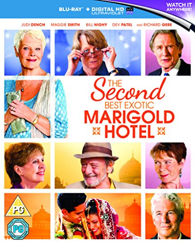 The Second Best Exotic Marigold Hotel [Blu-ray