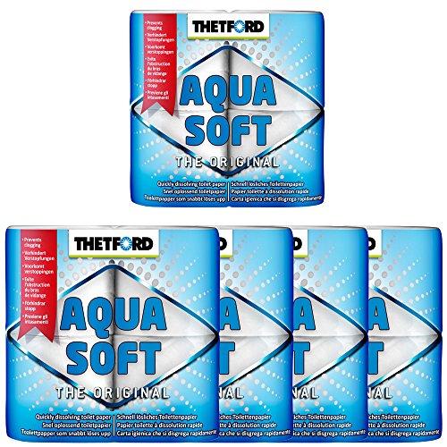 5x Camping Toilettenpapier Aqua Soft von Thetford
