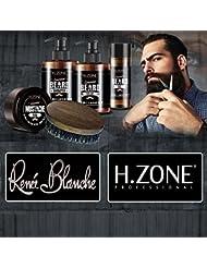 Kit Barbe et moustaches H-Zone Essential Beard - Renèe Blanche