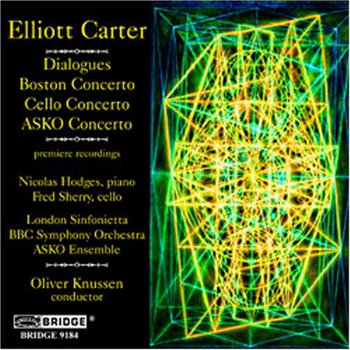 music-of-elliott-carter-vol7-import-anglais