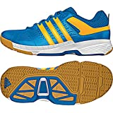Adidas Quickforce J Badminton Schuhe Solar blau