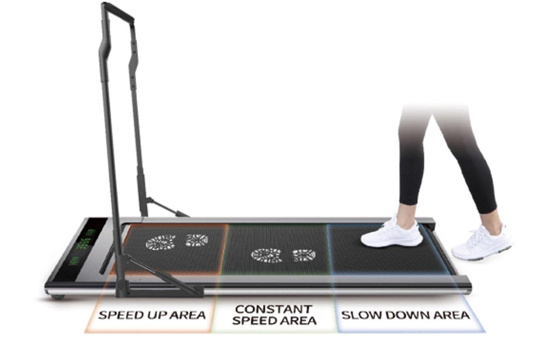 61CT7LJPDQL - Slim Tread Ultra Thin Smart Treadmill Running Machine Portable