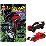 Hot Wheels Marvel Character Car 2-Pack With Comic Assortment