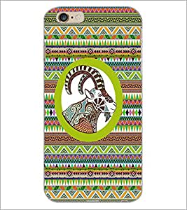 PrintDhaba Tribal Pattern D-3345 Back Case Cover for APPLE IPHONE 6 PLUS (Multi-Coloured)