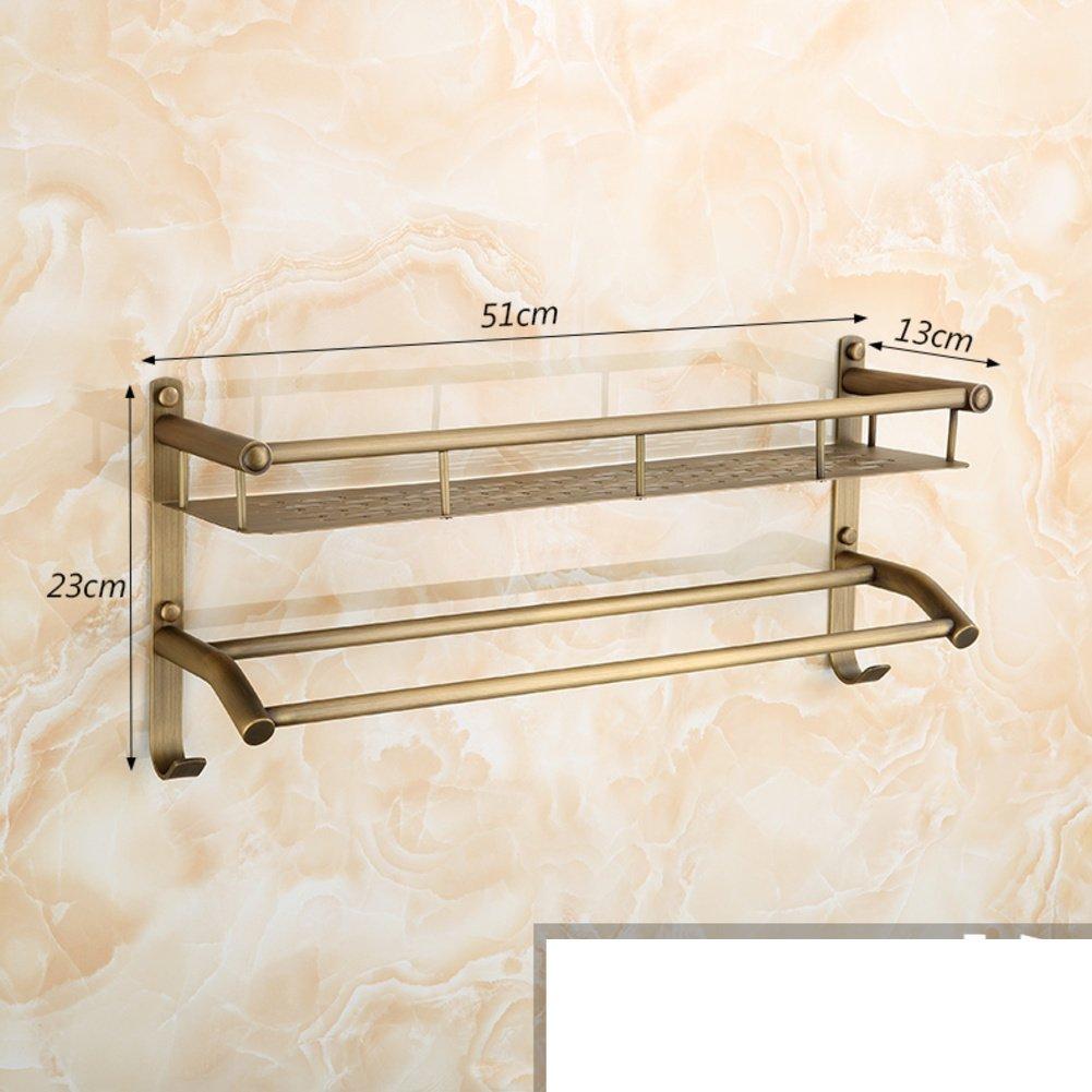 Ripiani antichi/Tutti gli scaffali cosmetici bagno di rame/Hook barra di tovagliolo/portasciugamano-