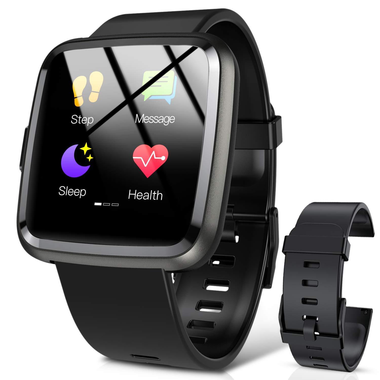 Hommie Smartwatch, S2 Reloj Inteligente con Pantalla Táctil Completa, Pulsera Actividad Inteligente ImpermeableIP67 con… 1