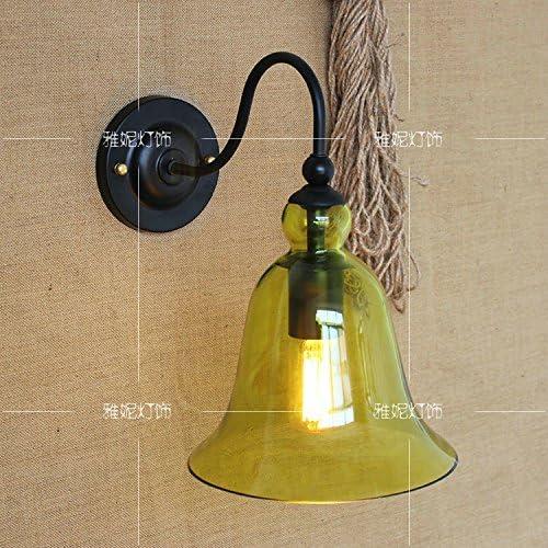 Self-My Lampada Da Parete Il Villaggio Americano, Minimalista Moderno Vetro Testiera Del Letto In Vetro Moderno Home Arte, B) 66268f