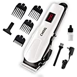 Chisel CT 1100 Proffesional Digital Rechargeable: 120 Minutes Runtime Hair Clipper for Men (White)