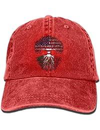 Bikofhd Cappello da Baseball del Denim del Cotone di Modo Adulto 2018  Americano coltivato Radici del fa5fa6717783