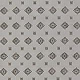 Fabulous Fabrics Futterstoff Jacquard Rauten - grau -
