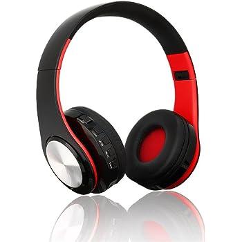 Cascos inalámbricos con Bluetooth, sonido estéreo, plegables, con micrófono, manos libres,