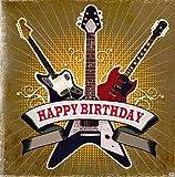 Geburtstagskarte mit Musik 3868-042F Happy Birthday
