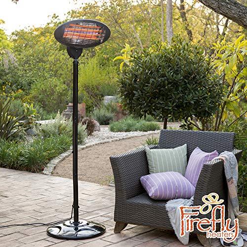 Primrose Firefly Estufa de Pie para Exterior - 3 Opciones de Calor 650W, 1350W and 2000W