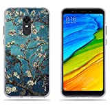 Custodia Xiaomi Redmi 5 Plus, Xiaomi Redmi Note 5 Cover, DIKAS Fantasia 3D Contemporaneo chic Design UltraSlim TPU Skin Cover Protettiva Shell Custodia per Xiaomi Redmi 5 Plus / Xiaomi Redmi Note 5- Pic: 09