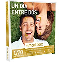 SMARTBOX - Caja Regalo -UN DÍA ENTRE DOS - 1720 experiencias como masajes, cenas de tapeo, buceo y mucho más
